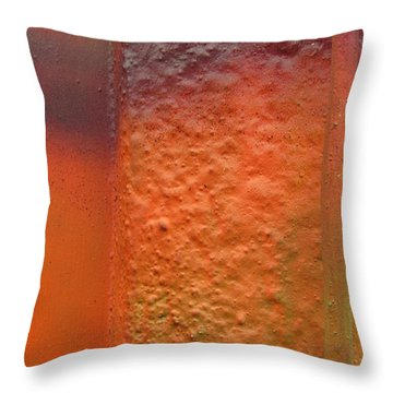 Wall Colour Throw Pillow by Alfred Ng