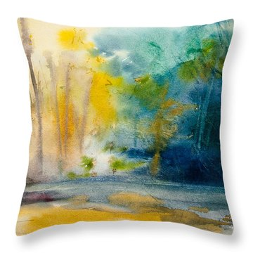Wall Doxey 5 Throw Pillow