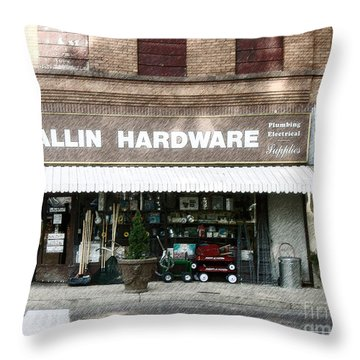 Wallin Hardware Throw Pillow