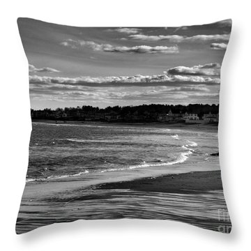 Wallis Beach Throw Pillow