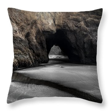 Walls Of The Cave Throw Pillow