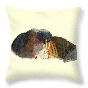 Seals Throw Pillows