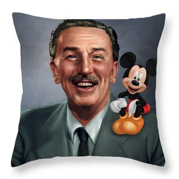 Walt Disney Mickey Mouse Partners Throw Pillow