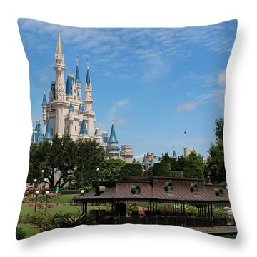 Walt Disney World Orlando Throw Pillow