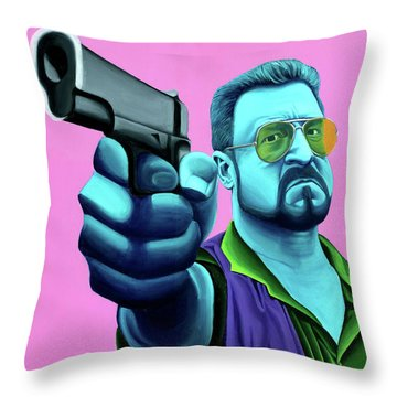 Walter  Throw Pillow by Ellen Patton
