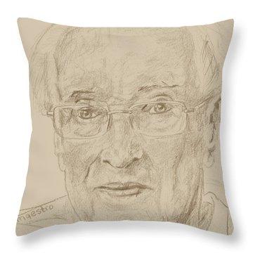 Walter Throw Pillow by PainterArtist FIN