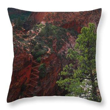 Walters Wiggles Throw Pillow