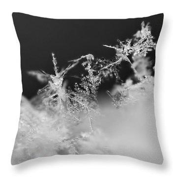 Waltz Of The Snowflakes Throw Pillow