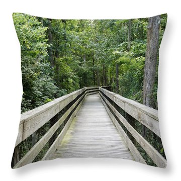Throw Pillow featuring the photograph Wander by Laurie Perry