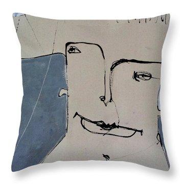 Wanderer No. 2 Throw Pillow by Mark M  Mellon
