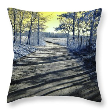 Wandering Alice Is Wondering Throw Pillow by Luke Moore