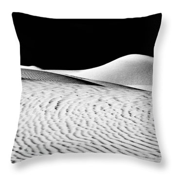 Wandering The Desert Throw Pillow