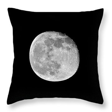 Waning Flower Moon Throw Pillow by Al Powell Photography USA