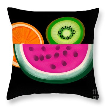 Want A Slice? Throw Pillow by Christine Fournier