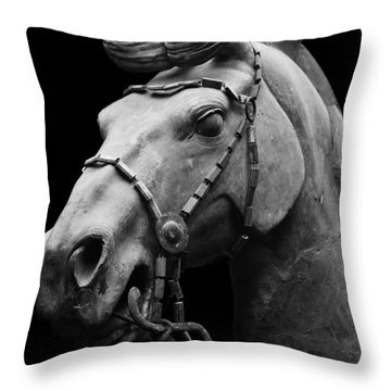 War Horse 2 Throw Pillow