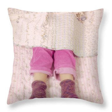 Warm And Cozy Throw Pillow by Joana Kruse