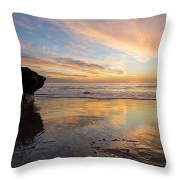 Warm Glow Of Memory Throw Pillow