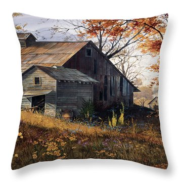 Wildflowers Throw Pillows