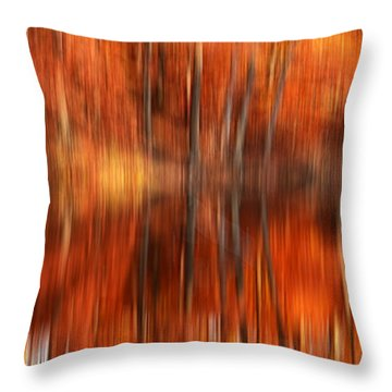 Warmth Impression Throw Pillow