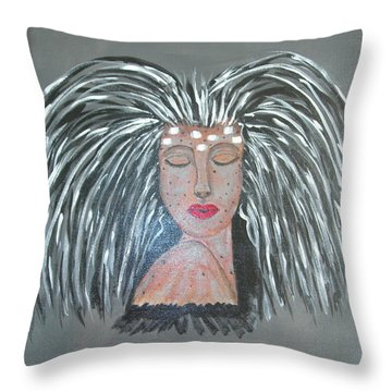 Warrior Woman #2 Throw Pillow