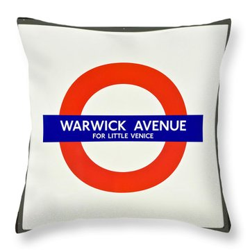 Warwick Station Throw Pillow