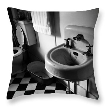 Wash Hands  Throw Pillow by Jerry Cordeiro