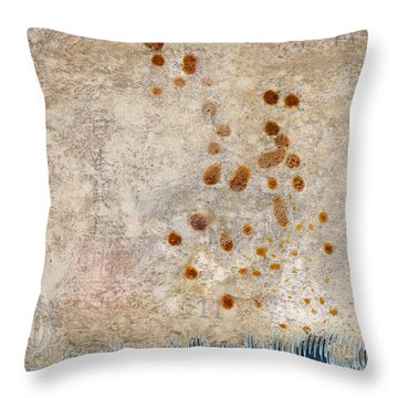 Washing Ashore Throw Pillow