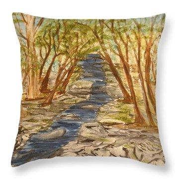 Washington Backcountry Throw Pillow