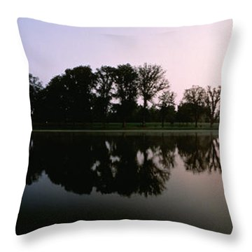 Washington Dc Throw Pillow by Panoramic Images