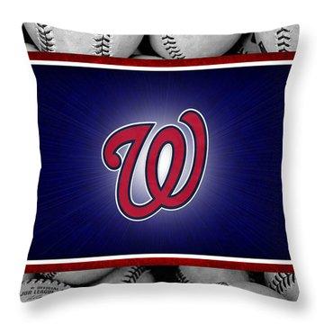 Washington Generals Throw Pillow