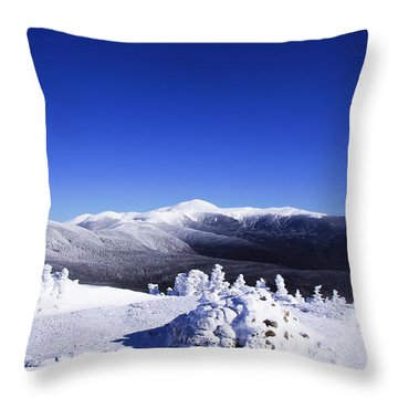 Washington In White Throw Pillow