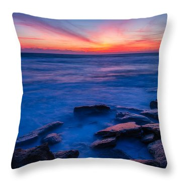 Washington Oaks Twilight Throw Pillow