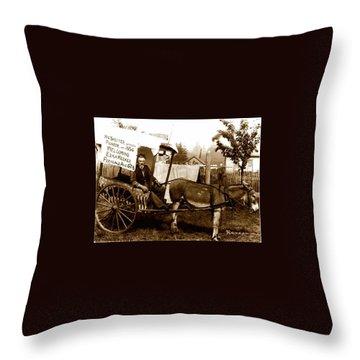 Washington State Pioneer Throw Pillow