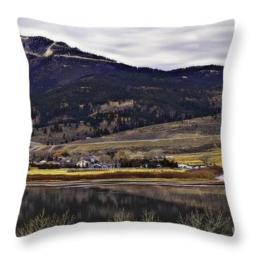 Washoe Valley-2 Throw Pillow