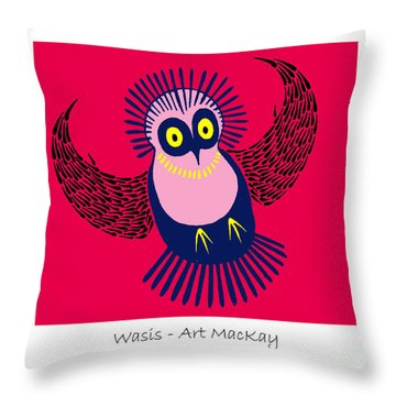 Wasis Throw Pillow