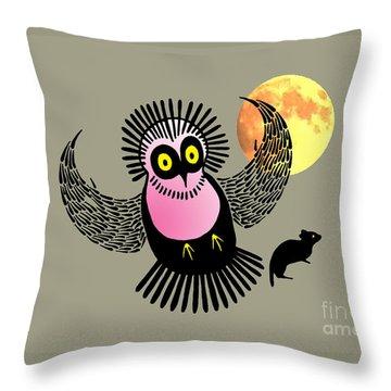 Wasis First Hunt Throw Pillow