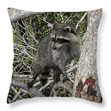 Watch Duty Throw Pillow