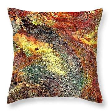 Watcher By Rafi Talby Throw Pillow by Rafi Talby