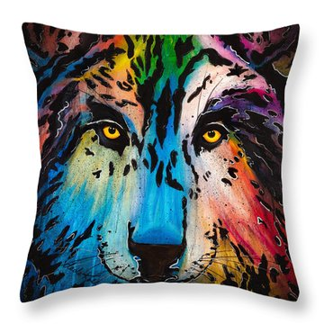 Watcher Throw Pillow