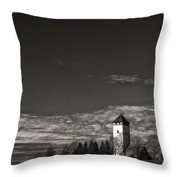 Watching Over Buchheim Throw Pillow by Bernd Laeschke