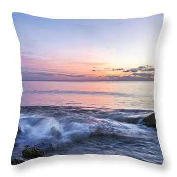 Watching The Last Light Throw Pillow
