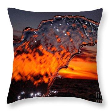 Water Art 2 Throw Pillow