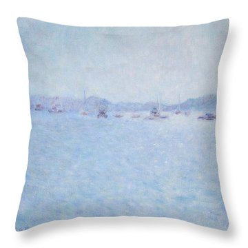 Water At Cannes France Throw Pillow
