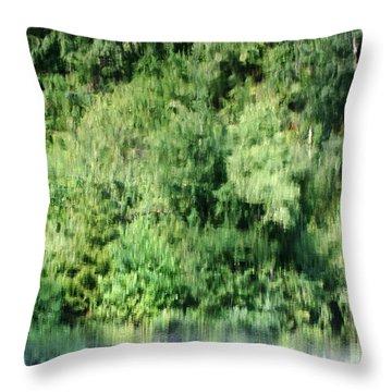 Water Forest Throw Pillow by Stanislav Killer