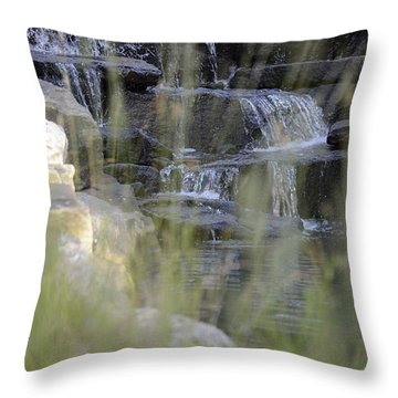 Water Is Life 1 Throw Pillow