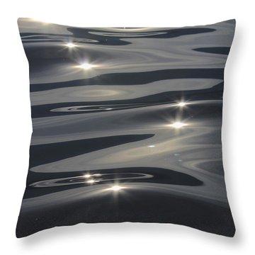 Water Magic Throw Pillow