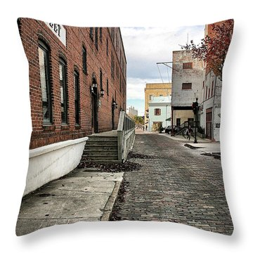 Water Street Throw Pillow
