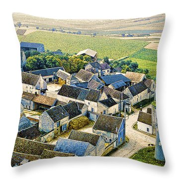 Water Tower Throw Pillow by Chuck Staley