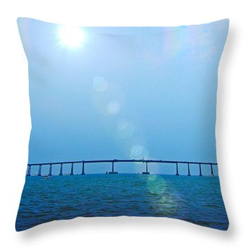 Water Under The Bridge Throw Pillow