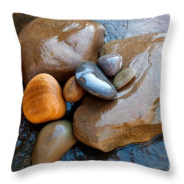 Throw Pillow featuring the photograph Water Works by Lena Wilhite